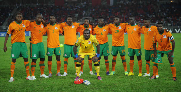 Zambia Team Picture   ©Gavin Barker/BackpagePix