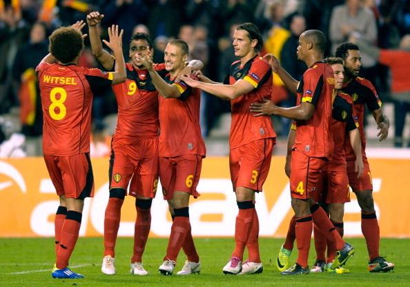 Belgium v Kazakhstan - EURO 2012 Qualifier